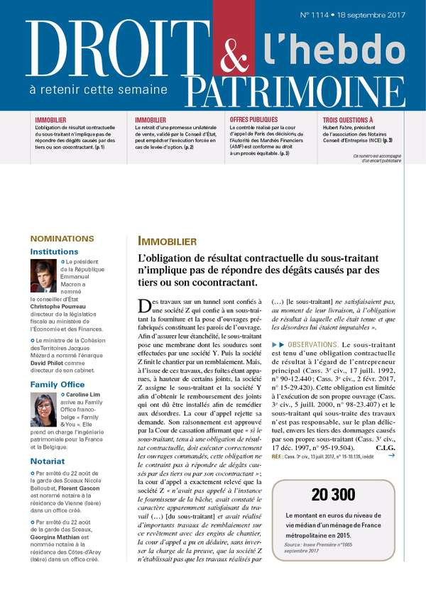 Sommaire n°1114